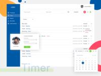 Timer Tracker Web App