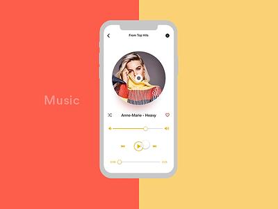 Music App Interaction adobe xd music album music mobile app design mobile animation gif animation gif ui design ux design app design ux ui user experience user interface interaction design music app