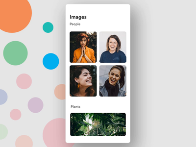 Delete Image Ineraction! adobe xd made with adobe xd image delete image gallery clean ux design ui design ui gif animation app interaction gif delete
