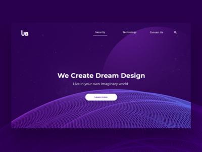 Design concept for design studio Ub.