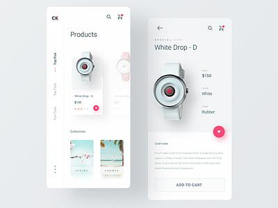 CK app mobile app design clock design mobile design mobile ui ux ux  ui ui