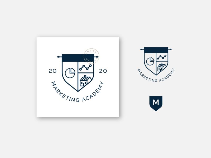 Marketing Academy design branding