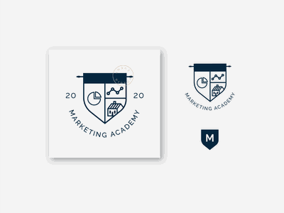 Marketing Academy design branding