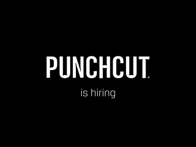 Punchcut is Hiring job listing designers jobs hiring vector illustration design animation motion
