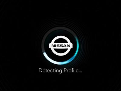 Biometric Ignition face recognition biometric dashboard brand vehicles autonomous cars video nissan motion ui