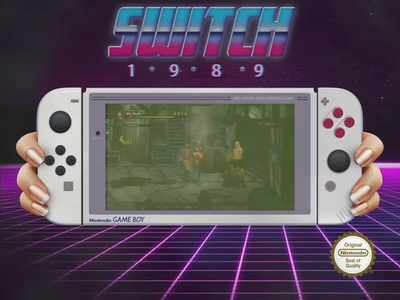 Nintendo Switch Game Boy Concept video games videogames video game videogame vectors vector art vector switch nintendo switch nintendoswitch nintendo gameboy color gameboy console conceptual concept