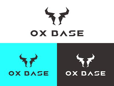 OX BASE LOGO design branding vector logo