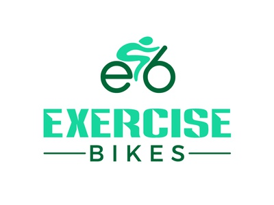 EXCERCISE BIKES branding vector icon logo design