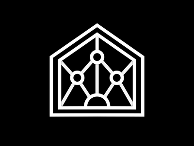 Icon - United value icon icon animation looping lines icon badge icon giphy sticker design for church black and white badge animator animated sticker 3d animation branding minimal motion designer motion motion graphics animation