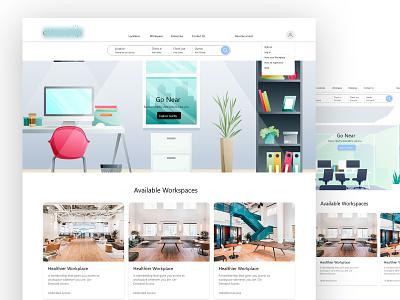 Landing page xd design landingpage corporate branding resume website portfolio template clean elegant design