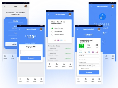 Payment App Feature watermark design app trendy corporate new ui design ux ui design app features payment app