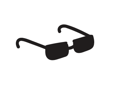 Simple Neat Sunglasses icon simple ui ui icon design modern design icon neat clean