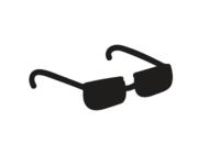Simple Neat Sunglasses icon