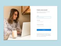 Create a business account