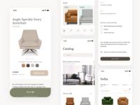 AR store for furniture - Alternative design