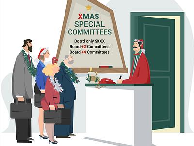 2019 12 10  8 32 29 christmas flat website app design web illustration vector