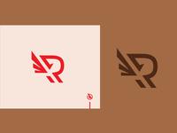 Winged R