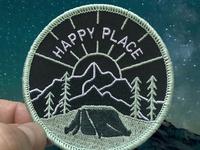 Happy Place patch