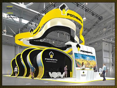 Rosneft exhibition designer exhibition stand design rosneft exhibition stand designer designexhibition designexhibit booth exhibition
