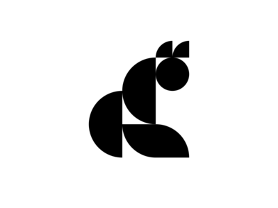 Geometric Cat Mark