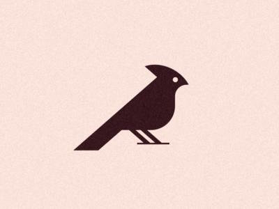 Cardinal II ux ui geometric grid brand identity branding graphicdesign minimal logodesign animal bird cardinal icon symbol logomark logo