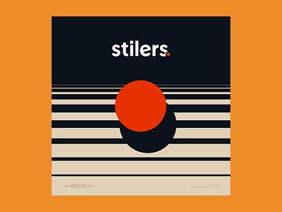 Stilers. Album Art illustration logo geometric space vintage stilers rock band cover artwork album art brand branding