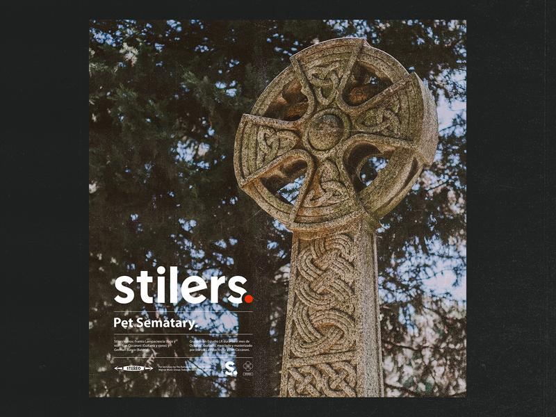 Stilers. - Pet Sematary single branding photography ramones design artwork album cover album art stilers