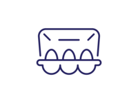Egg Packing Icon