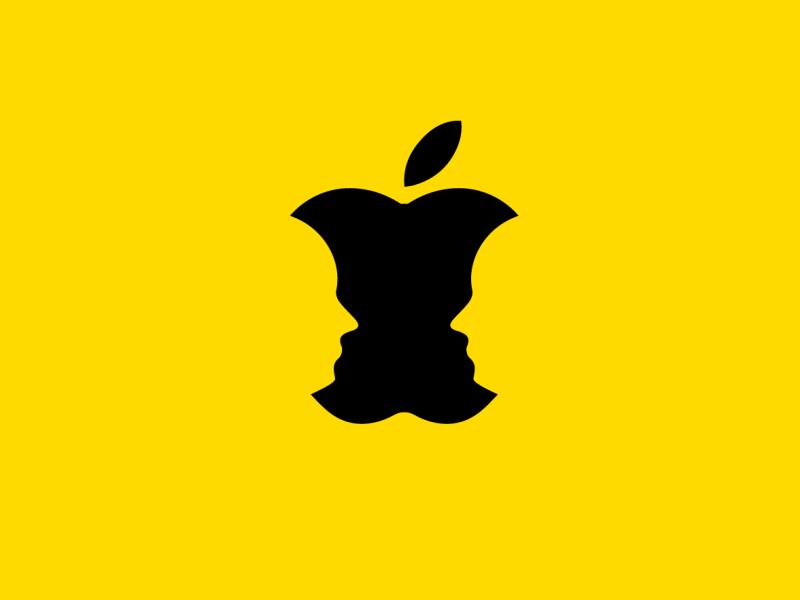 IOS Tutoring Service badge vector icon logo branding design identity brand identity logo design