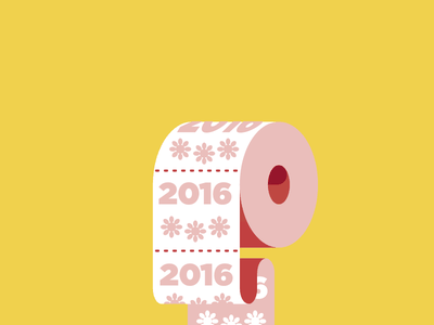 2016 elections paper roll toilet design editorial vector illustration 2016 toilet paper humor spot illustration icon