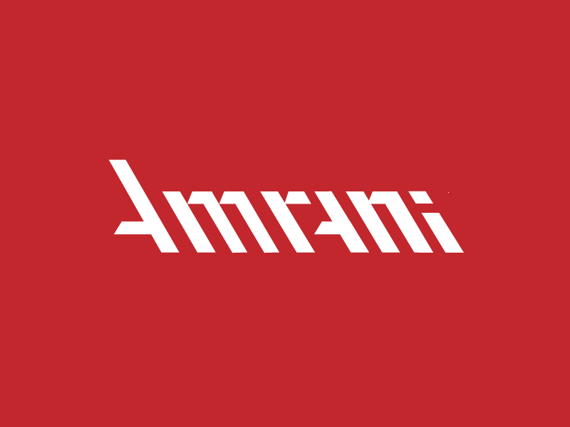 Anrani a brand identity logo typeface lettering developing software