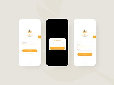 School Login Screen visual design icons branding corporate uiux design ui design mobile register form login school login school school login screen