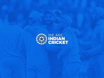 We Are Indian Cricket jersey blue players cricket indian