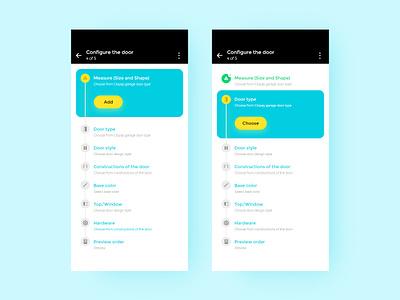Configure Ui ui design landing page website green page uiux design branding visual design