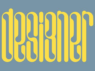 Designer Calligraphy font fonts yellow sketch designer texture art calligraphy