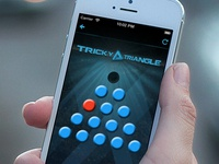Tricky Triangle iPhone Game
