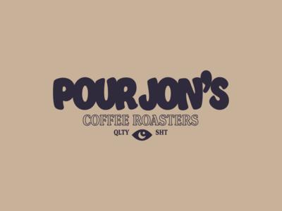 Pour Jon's Full Logo