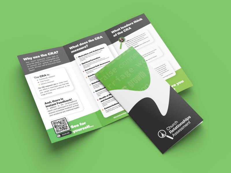 CRA Brochure logo trifold branding