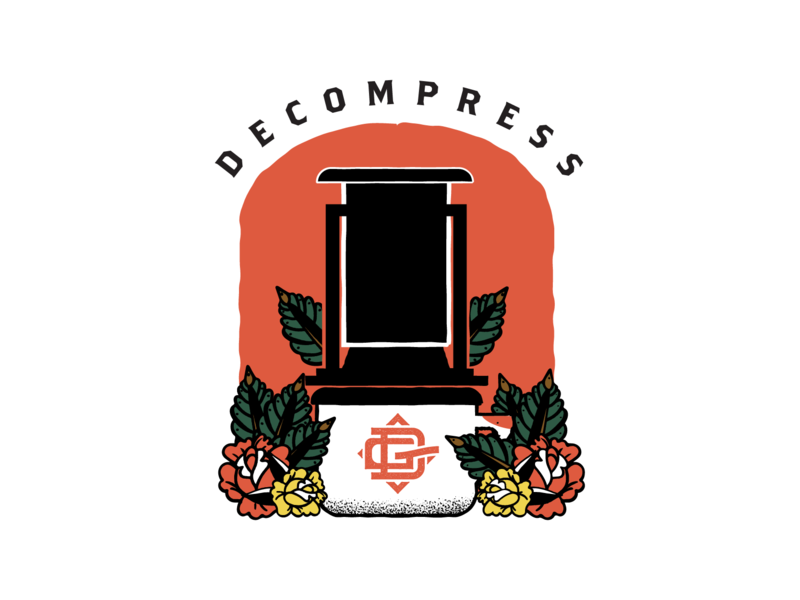 Decompress Shirt for Daily Grind Provisions Co  by Jason