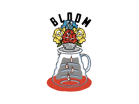 Bloom Illustration for Daily Grind Provisions Co.