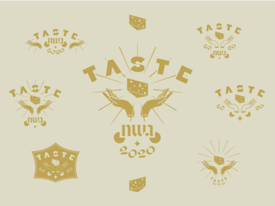Taste Logo Spread branding illustration illustrator logo design