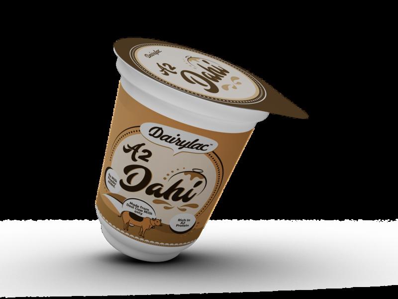 Curd Packaging vector branding design illustration