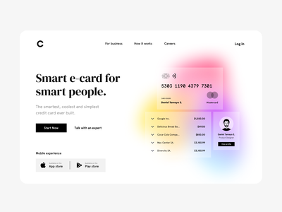 Payments Landing interface web ux design ui design interaction design ux ui design app