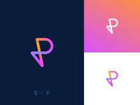 P logo exploration