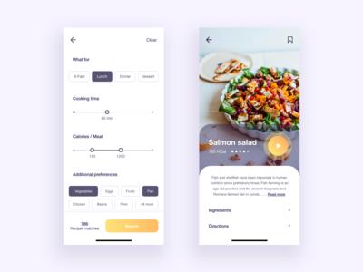 Recipe finder App