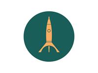 Icons and Colors: {18} Rajah Rocket
