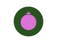 Icons and Colors: {15} Orchid Ornament
