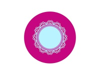 Icons and Colors: {04} Diamond Doily