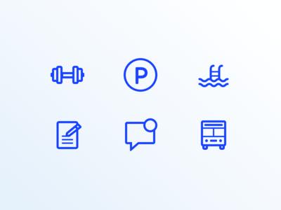Travel App Icons