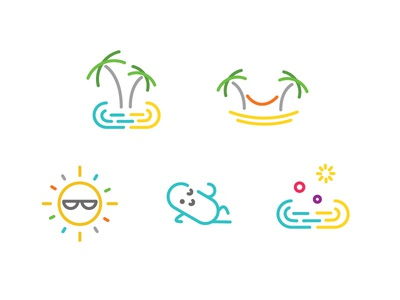 Chillpill icons colourfull icon design